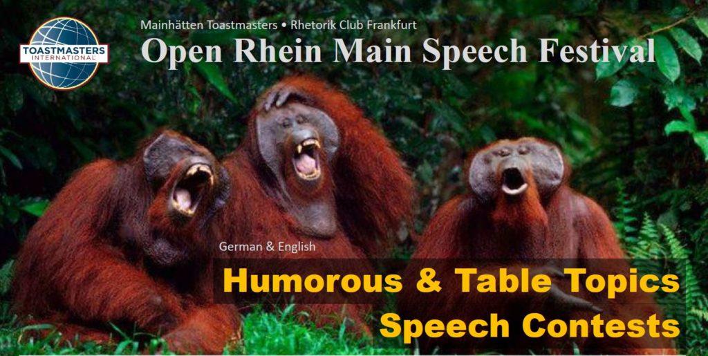Bild Wettbewerb Open Rhein Main Speech Festival