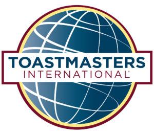 Toastmasters-Logo, weißer Hintergrund